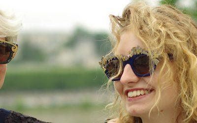 Ornements pour les lunettes de mode audacieux