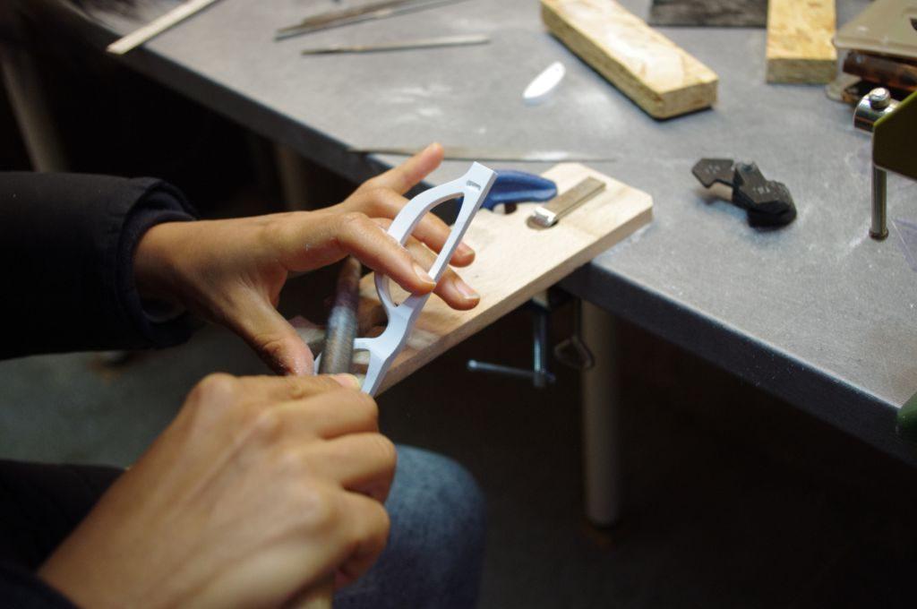 Les étapes de la fabrication des lunettes audacieux