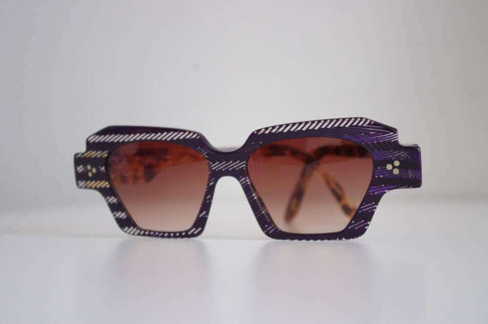 photo produit des lunettes de mode audacieux